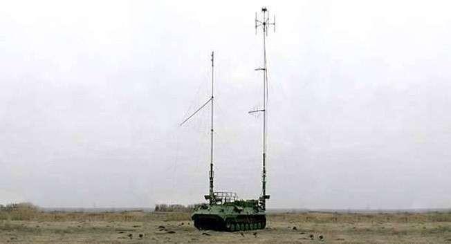 Автоматизированная станция помех комплекса «Борисоглебск-2».