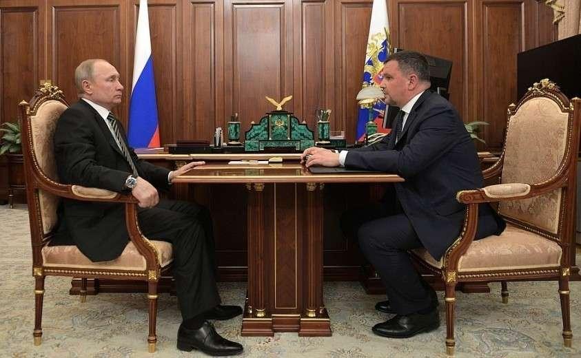 Владимир Путин провёл рабочую встречу с вице-премьером Максимом Акимовым