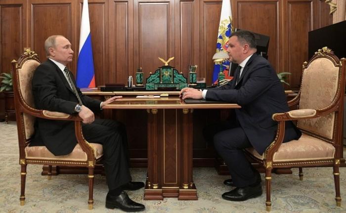 Владимир Путин провёл рабочую встречу свице-премьером Максимом Акимовым