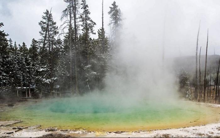 Геотермальная зона под Йеллоустоном растёт