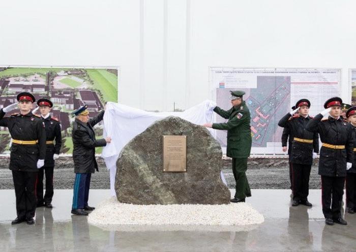 ВоВладикавказе начали строительство нового комплекса Северо-Кавказского суворовского училища