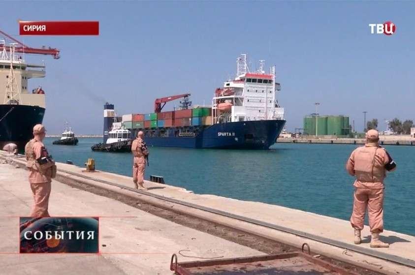 Россия отвоевала сирийский порт Тартус. Средиземное море становится нашим