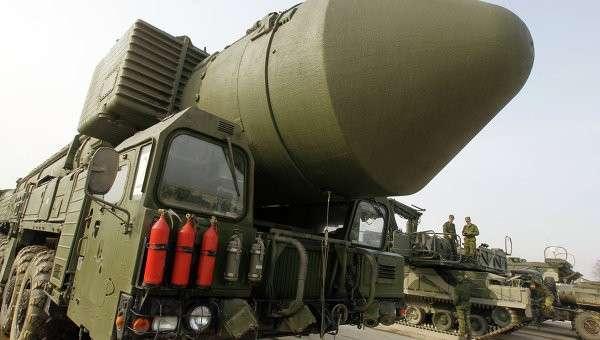 Ракетный комплекс Тополь-М, архивное фото