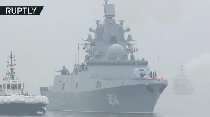 Российский фрегат «Адмирал Горшков» прибыл в Китай для участия в морском параде