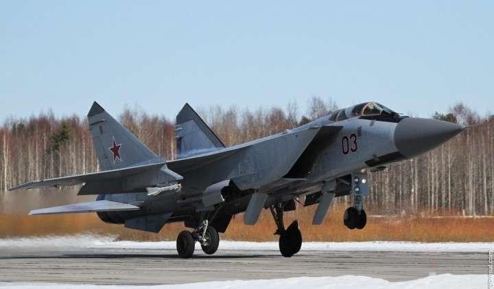 Арктическая база для дальних перехватчиков МиГ-31