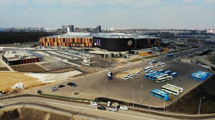 Вновой Москве открыли транспортно пересадочный узел «Саларьево»