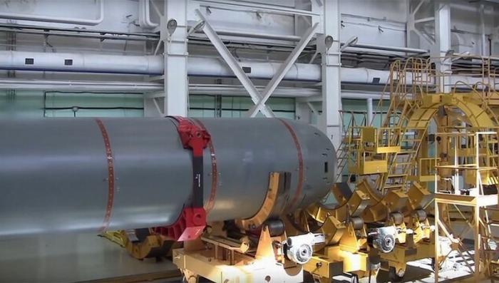 Первую подводную лодку-носитель беспилотников «Посейдон» спустили на воду