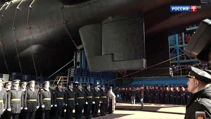 Эпохальное событие для российского флота: подлодку
