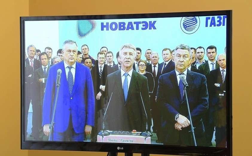 Владимир Путин дал старт первой отгрузке СПГ на новом заводе «Криогаз Высоцк»