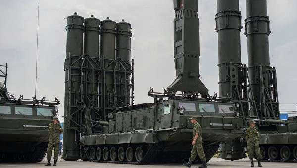 Зенитный ракетный комплекс С-300В, архивное фото