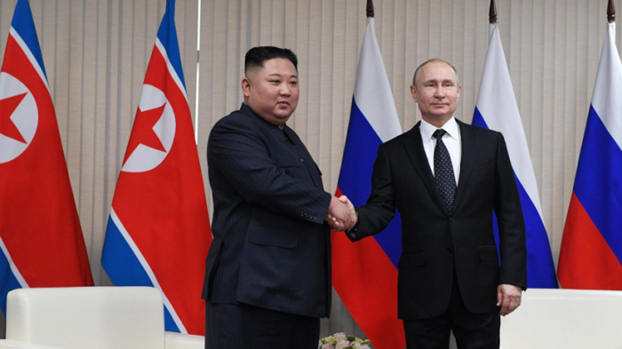 Владивосток. Завершились переговоры Путина и Ким Чен Ына