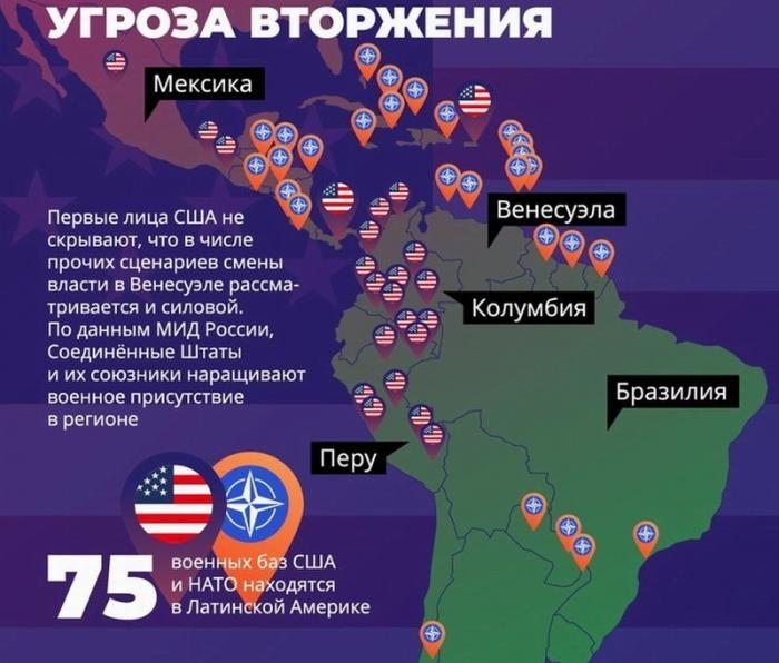 Служба внешней разведки РФ заявила подготовке США к военной интервенции в Венесуэлу