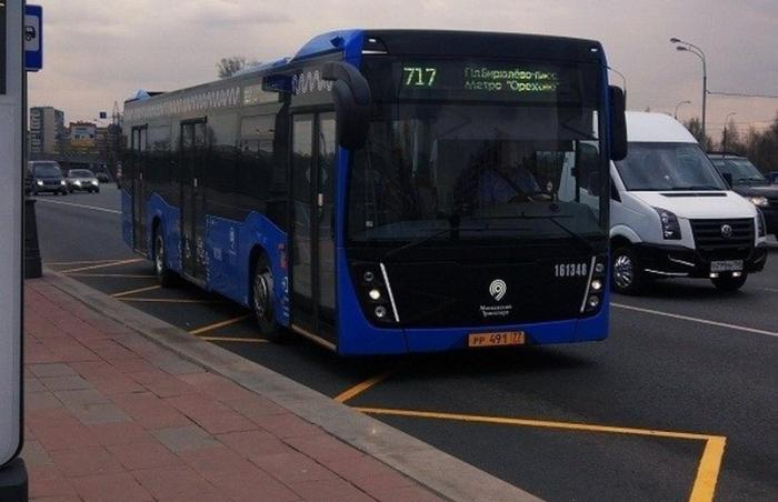 ВМоскву поступила крупная партия низкопольных автобусов «НЕФАЗ» производства ПАО КАМАЗ
