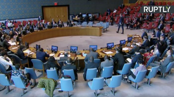 Заседание Совбеза ООН по вопросу гражданства жителей Донбасса. Прямая трансляция