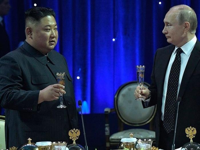 Встреча Путина и Кима оказалась полна символов и намеков