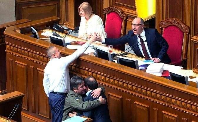Украина: 30 тыс. рублей штрафа за слово на русском языке