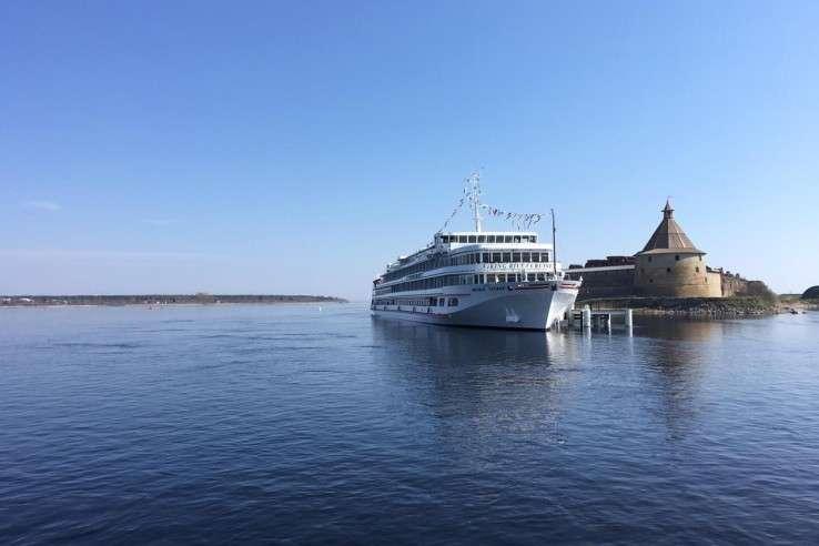 Около крепости Орешек в Ленинградской области открыт новый причал