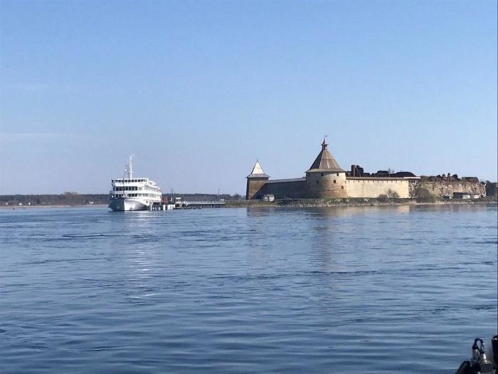 Около крепости Орешек вЛенинградской области открыт новый причал