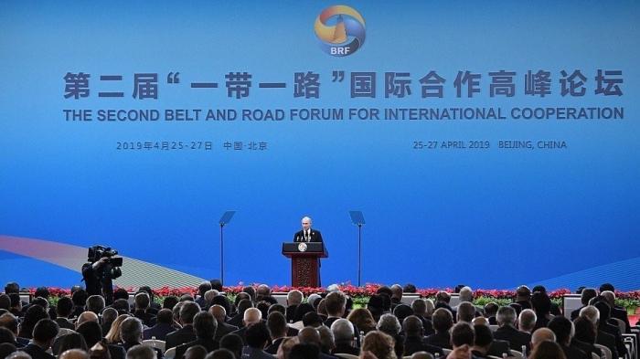 Владимир Путин в Китае принял участие в Международном форуме «Один пояс, один путь»