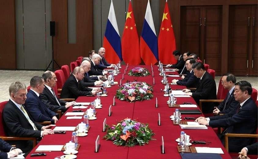 В Пекине состоялись переговоры Владимира Путина с главой КНР Си Цзиньпином.