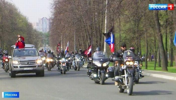 Дорогами Победы: московские байкеры «Ночные волки» взяли курс на Берлин