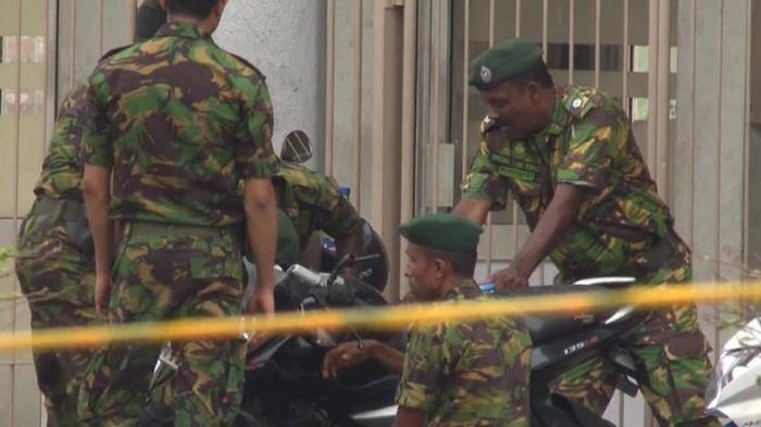 На Шри-Ланке в городе Калмунай прогремело ещё три взрыва