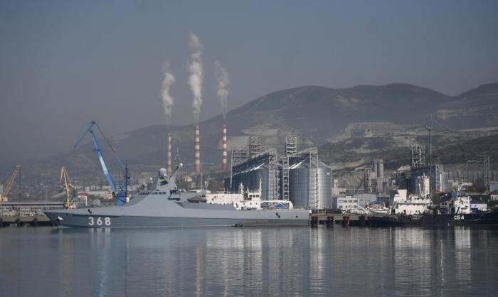 Новороссийская база ВМФ России – корабли и подлодки