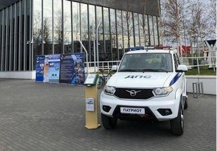 Обновлённый УАЗ Патриот ДПС приняли наснабжение вМВДРоссии