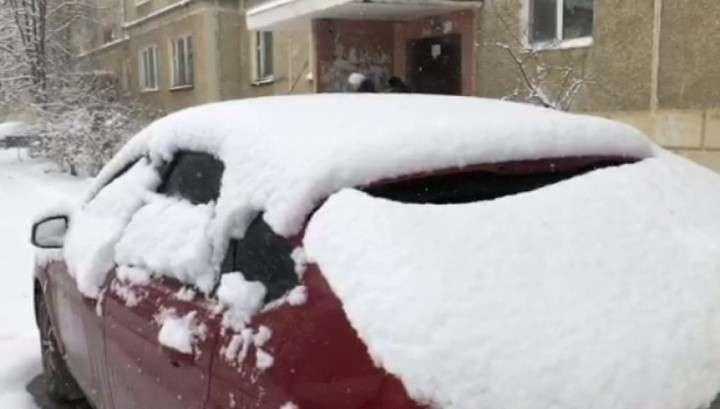 Нижний Тагил и Томск засыпало снегом перед майскими праздниками