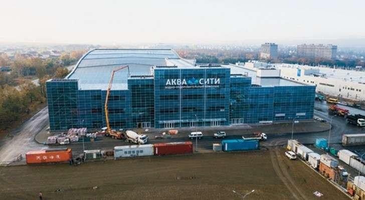 Ход строительства новых спортивных комплексов в России