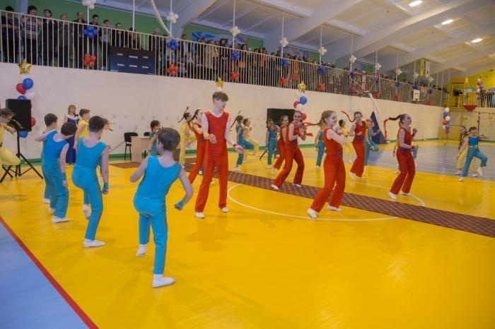 ВОмской области открыт новый многофункциональный спортивный комплекс