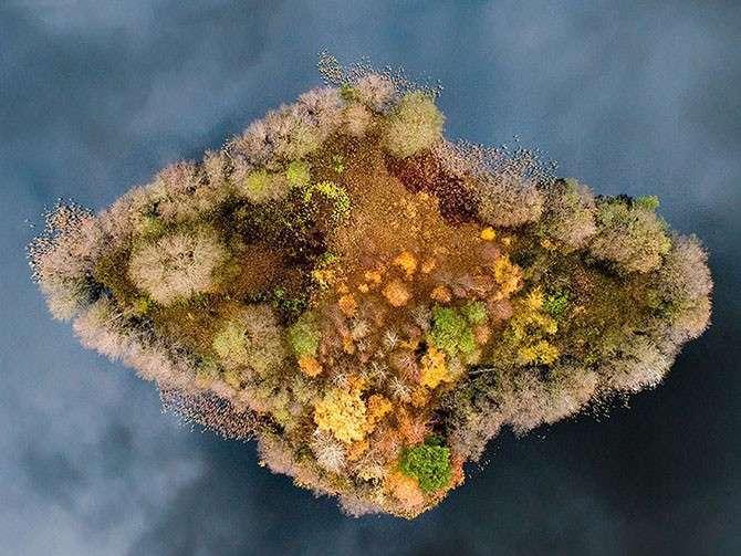 Осенние преображения: 12 пейзажей до и после