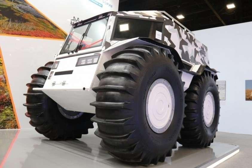 Создатели российского вездехода «Шерп» представили новую модель супервездехода для Арктики