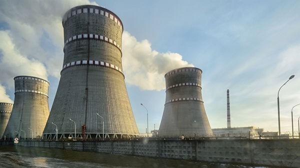 Украина: на Ровенской АЭС произошел пожар, реактор экстренно отключён