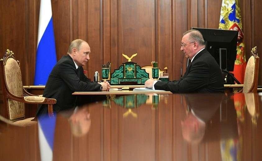 Встреча с руководителем компании «Транснефть» Николаем Токаревым.