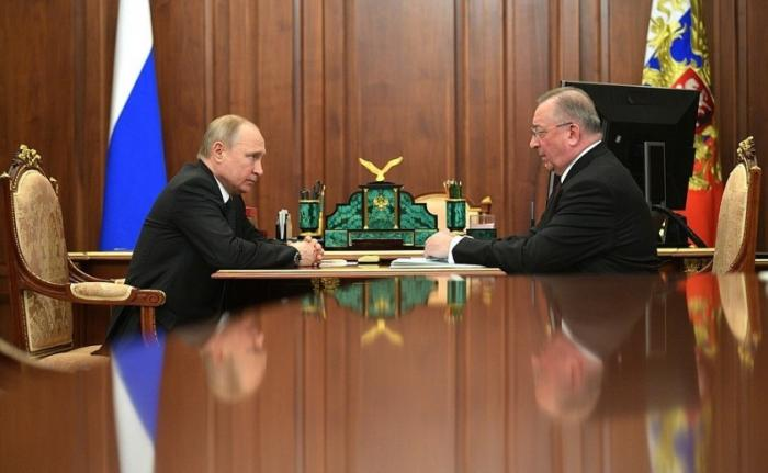 Путин потребовал от главы «Транснефти» Николая Токарева исправить систему контроля качества нефти