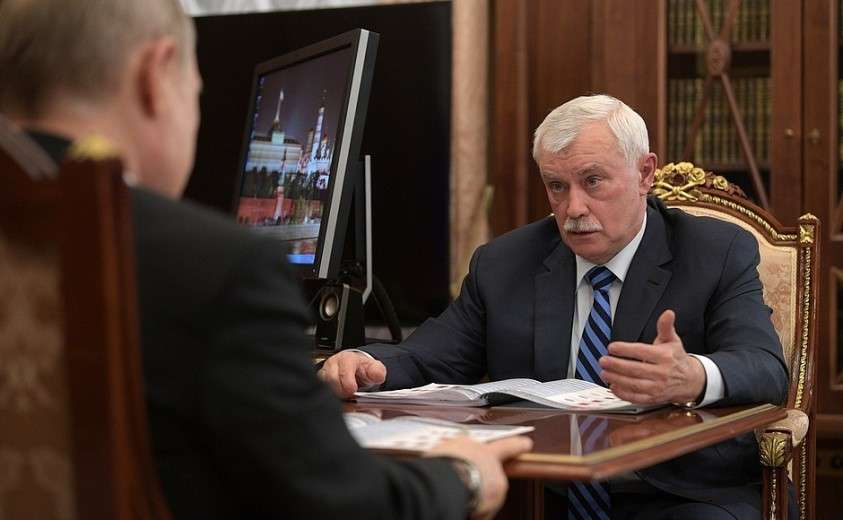 Глава «Объединённой судостроительной корпорации» Георгий Полтавченко.