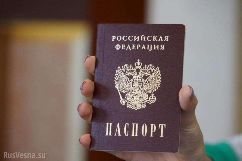 МВД ДНР сообщает порядок подачи документов на российское гражданство