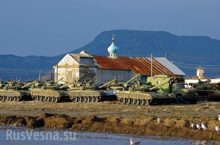Курилы не Японии. Россия активно развивает военную инфраструктуру на островах