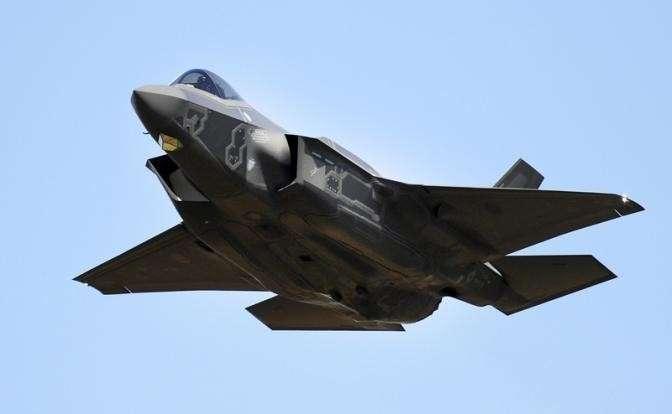На фото: истребитель Lockheed Martin F-35 Lightning II