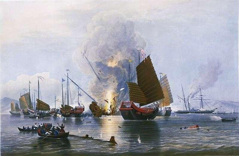 Первая опиумная война в Китае, развязанная «цивилизованными» европейцами