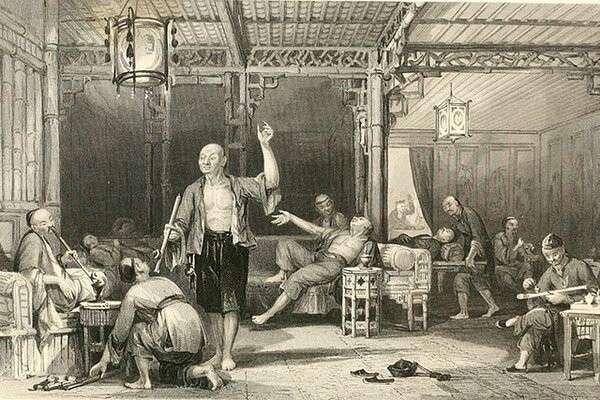 Китайцы – курильщики опиума, 1858 г. // wikipedia.org