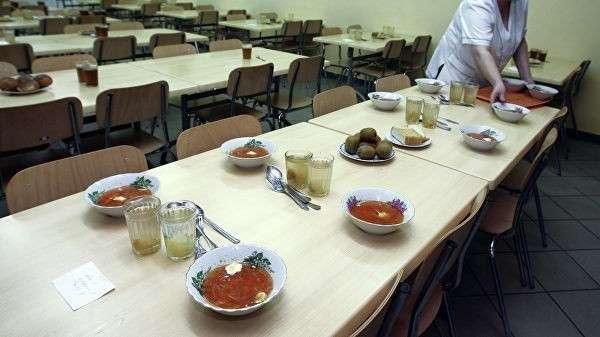 Работа столовой в средней общеобразовательной школе