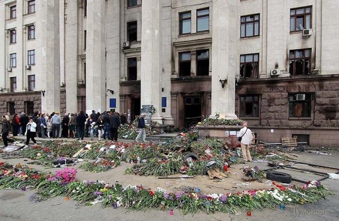 Пять лет со дня страшной трагедии в Одессе – сожжения в доме Профсоюзов