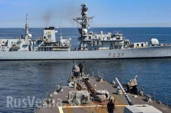 Корабли НАТО вошли в Балтийское море, ВМФ России «встречает» их пусками ракет «Уран»   Русская весна