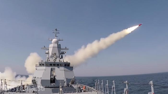 Корабли НАТО вошли в Балтийское море, ВМФ России «встречает» их пусками ракет «Уран»