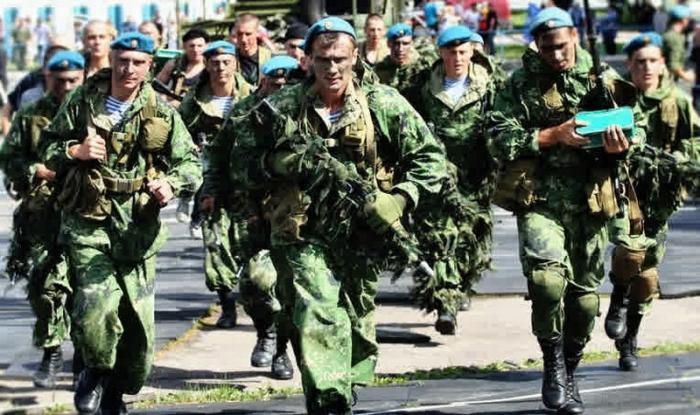 Как русские десантники китайскому спецназу невозможное показывали