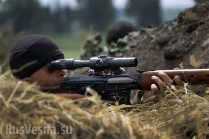 Снайперы АрмииЛНРготовы выполнить любую задачу