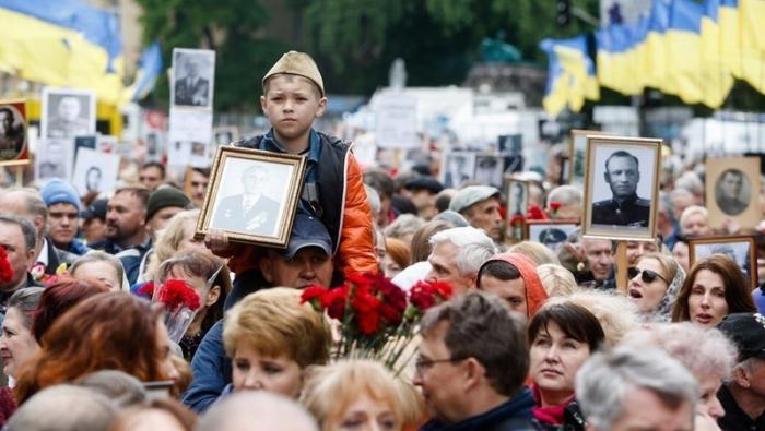 9 мая, в День Победы по Киеву пройдет наш «Бессмертный полк»