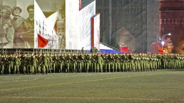 Репетиция Парада Победы на Красной площади завершилась